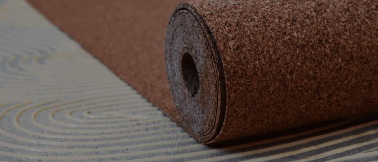 пробковая подложка под линолеум на бетонный пол