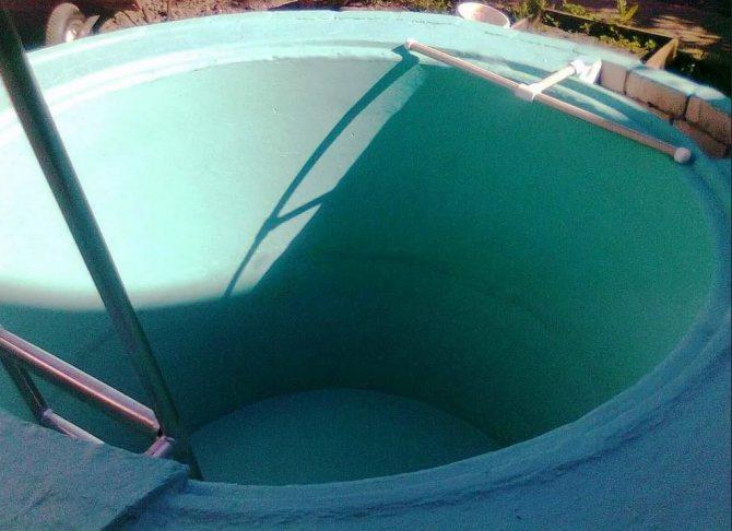 Бассейн из бетонных колец своими руками