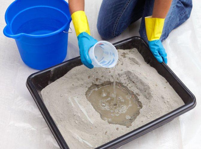 бетон из отсева и цемента