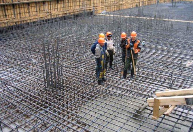 Бетонирование монолитных конструкций