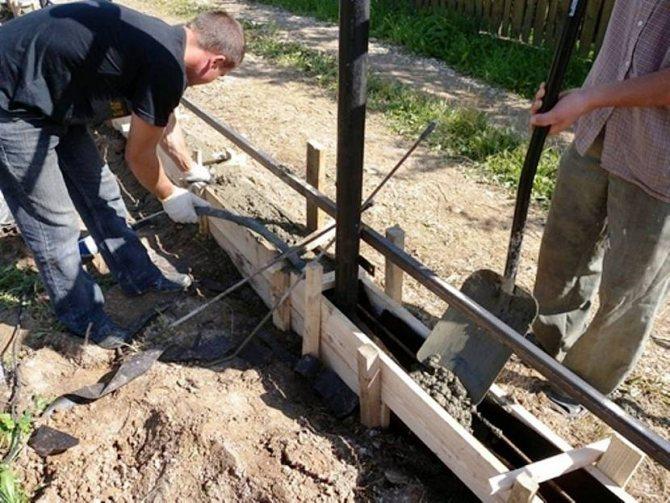 бетонные ограждения