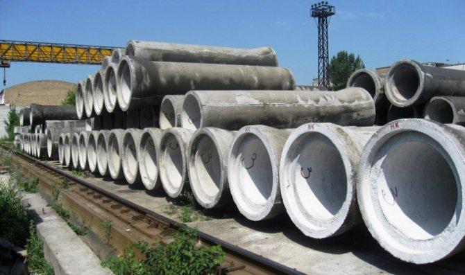 Безнапорные раструбные бетонные трубы
