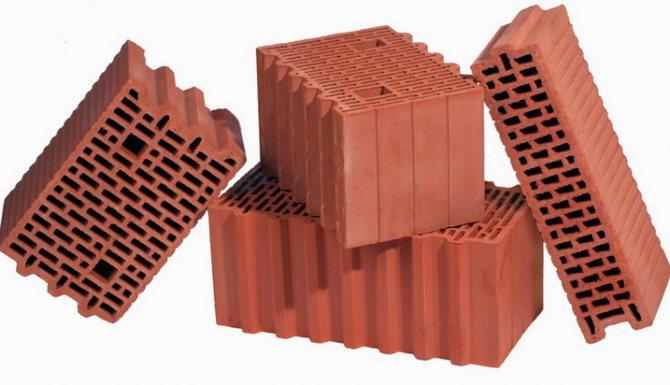 Блоки для строительства дома из поризованной керамики