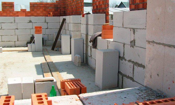 Блоки для строительства дома какие лучшеиспользовать