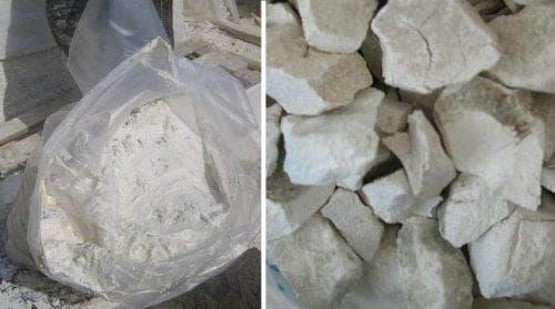 цемент с едкой известью