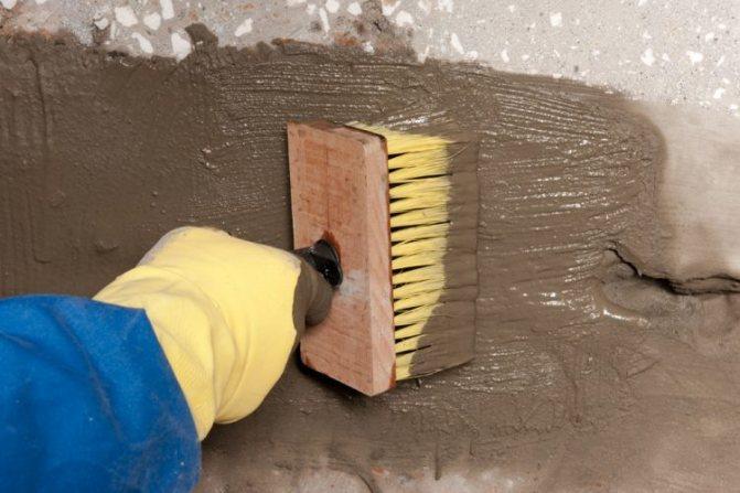 Цементная гидроизоляция под плитку