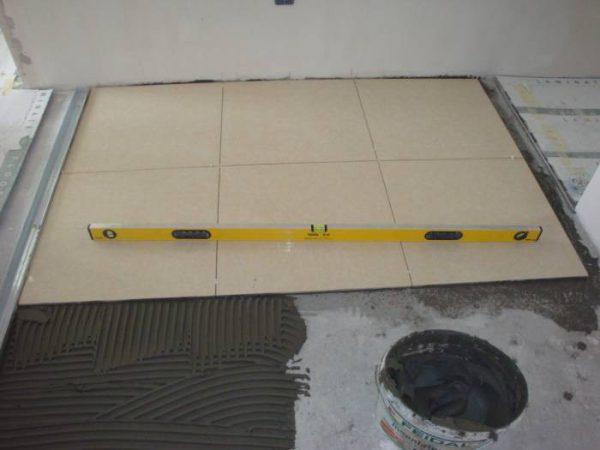 Цементная стяжка под плитку