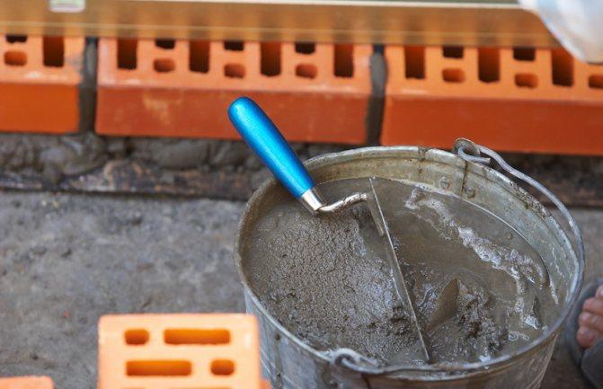 Цементно-песчаные смеси в строительстве