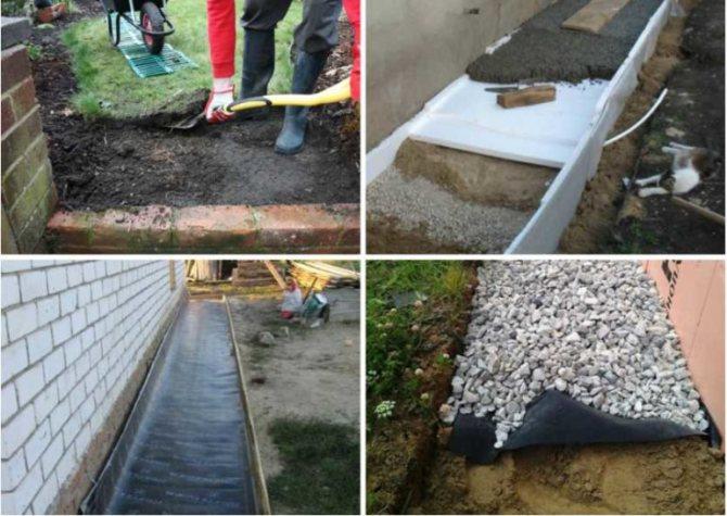 Что приводит к разрушению бетонной отмостки вокруг дома