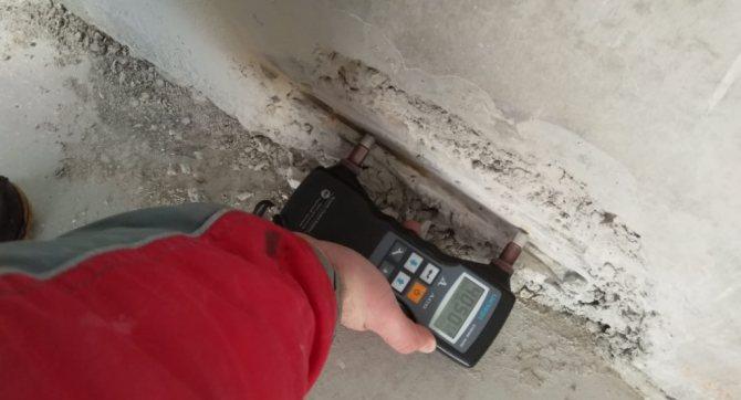 Дефектоскопическая проверка прочности бетона ультразвуковыми методами на объекте калужской лабораторией С-Тест