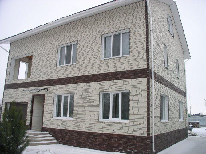 Декоративная отделка стен дома