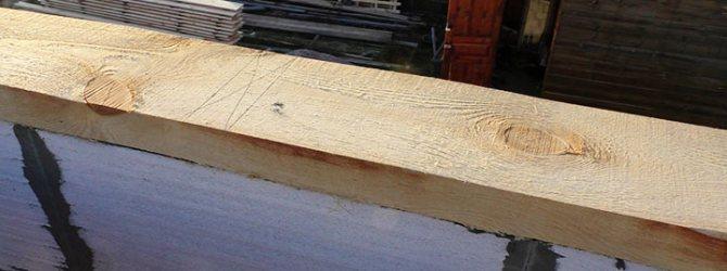 дерево на блоках