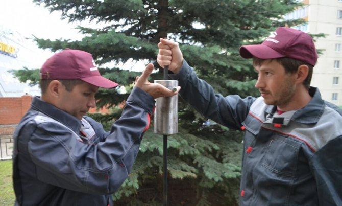 Динамическое зондирование грунтов