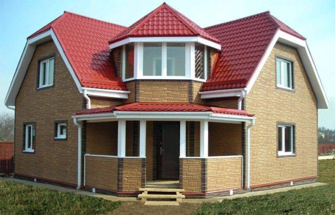 дом из пеноблока