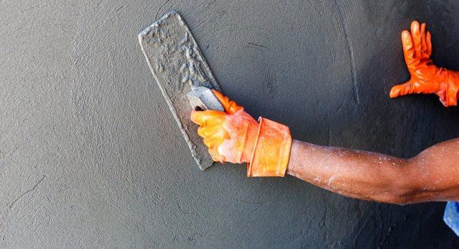 Если покрыть стены жидким стеклом