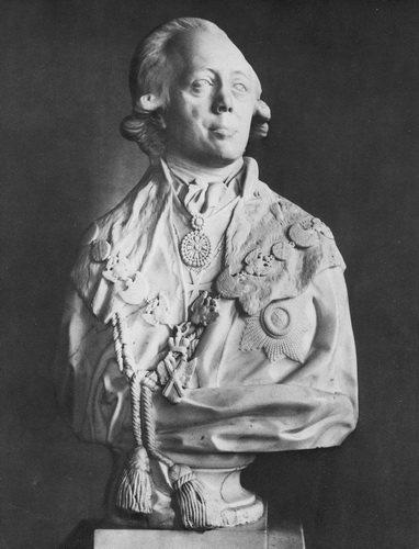 Ф. И. Шубин. Портрет Павла I. 1798.