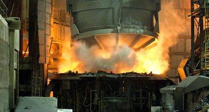 Фундамент для сталеплавильной печи