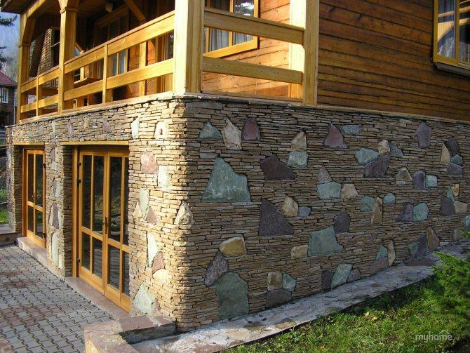 фундамент из камней