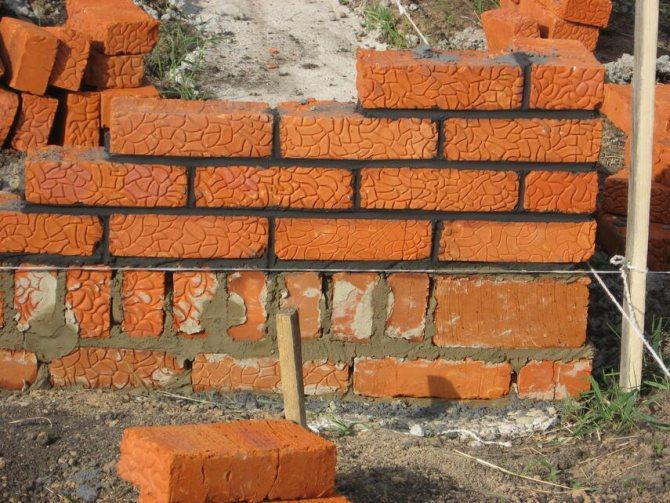 Фундамент из кирпича - пошаговая инструкция, плюсы, минусы, инструкция, советы каменщиков