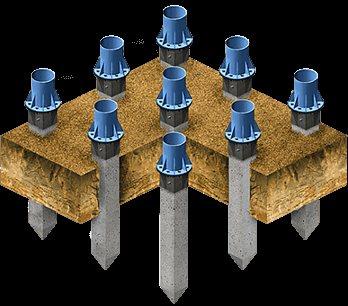 Фундамент промышленных зданий