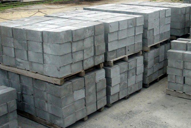 фундаментные блоки 40