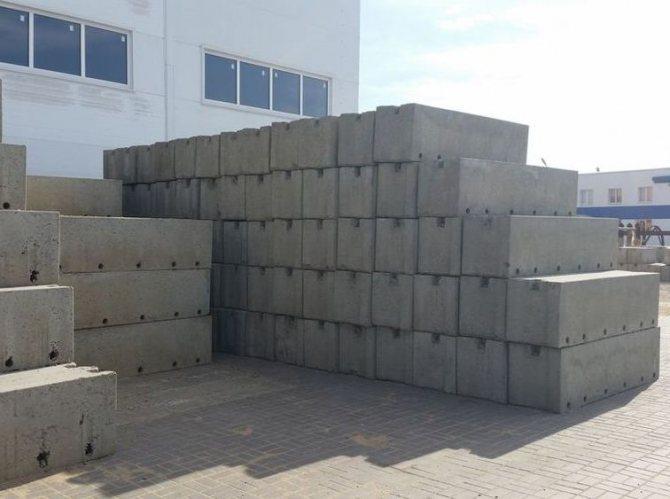 Фундаментные блоки ФБС 24.6, ЖБИ, блоки ФБС 12, блоки ФБС 9, размеры блоков, вес блоков ФБС, масса блоков