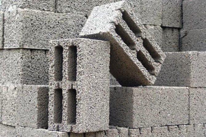 гараж из керамзитобетонных блоков своими руками