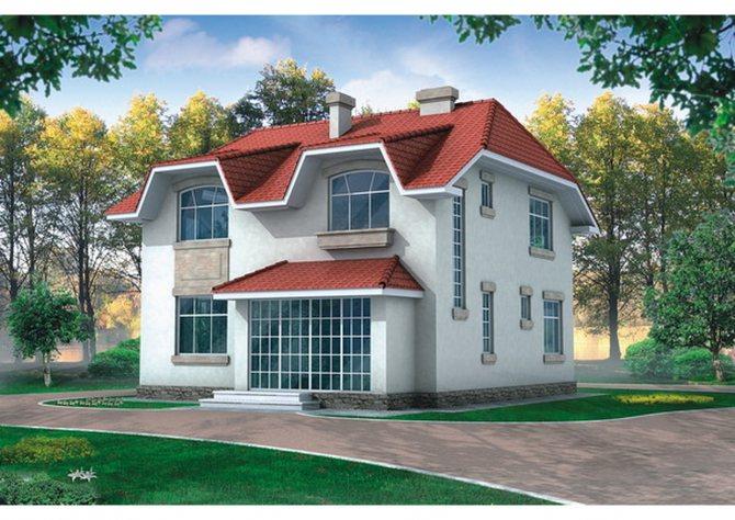 Газобетонные блоки — весьма востребованный строительный материал для частных домов