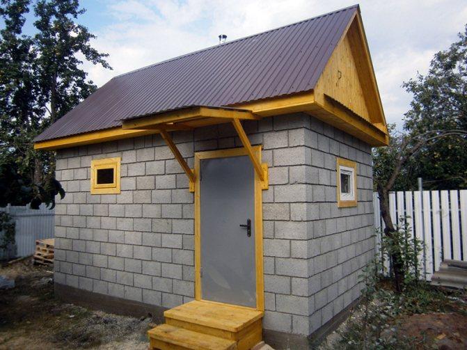 Газоблок для бани: можно ли строить баню из газобетонных блоков?