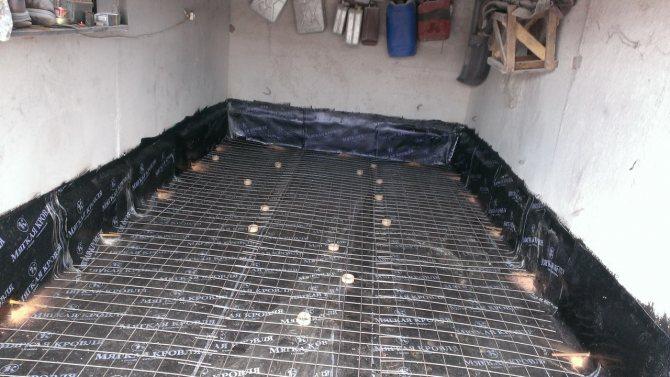 Гидроизоляция пола гаража