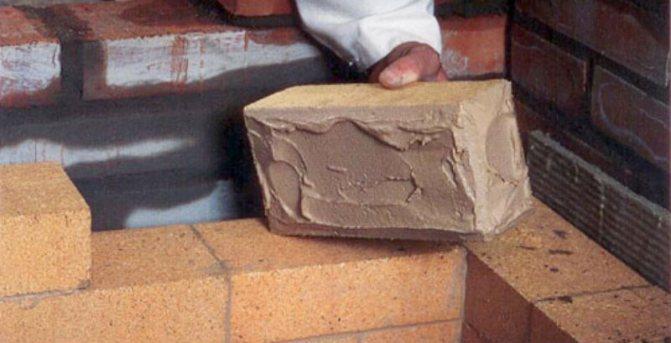 Глиняный раствор для кладки печей