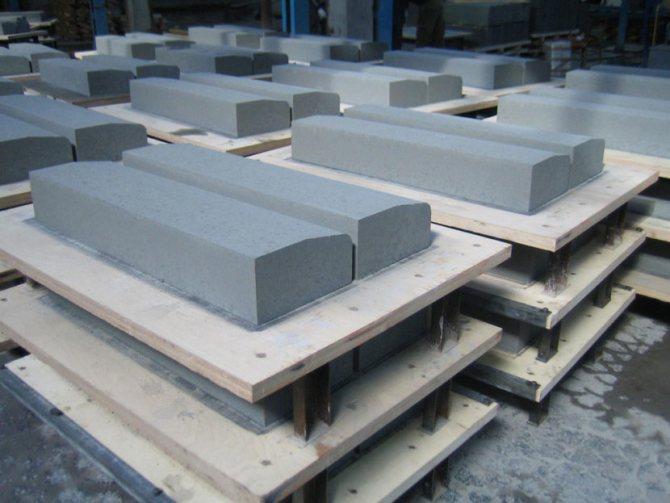 ГОСТ 6665-91. Камни бетонные и железобетонные бортовые