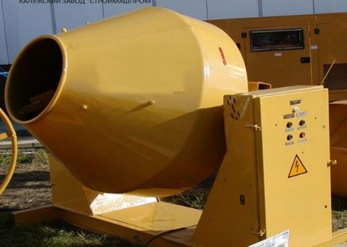 Гравитационная мешалка для промышленного использования