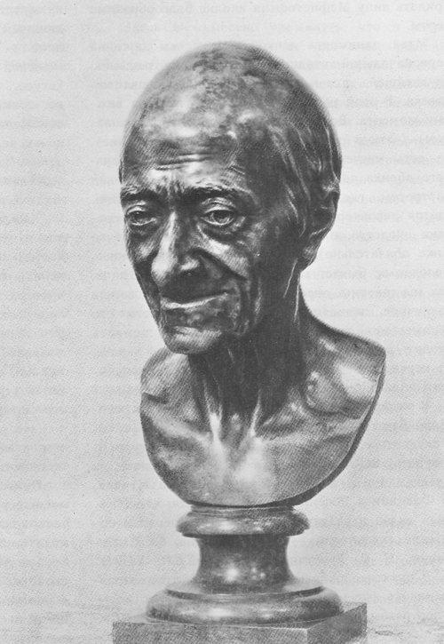 Гудон. Портрет Вольтера. 1778-1779.