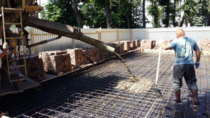 Характеристики и пропорции бетона М350