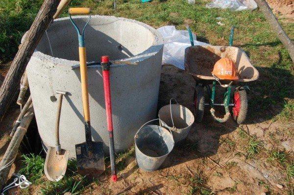 Инструменты, необходимые для рытья колодца
