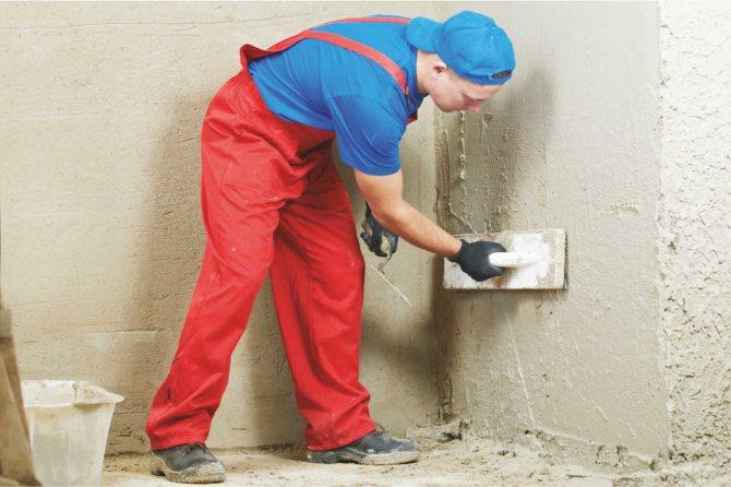 использование бетоноконтакта для внутренних работ