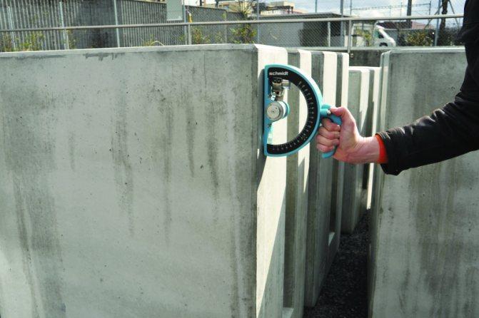 Испытания бетона неразрушающим методом
