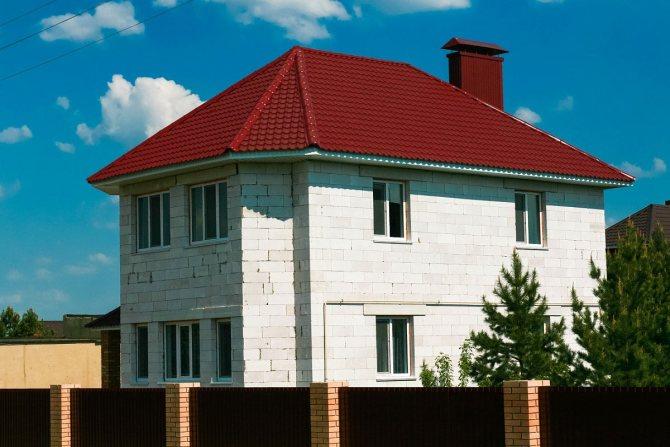 Из газосиликатного блока Wehrhahn Старый Оскол допускается строительство домов до трёж этажей