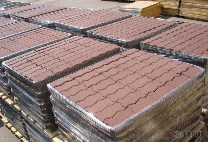 Изготовление тротуарной плитки в домашних условиях, помощь в выборе методики 36-13