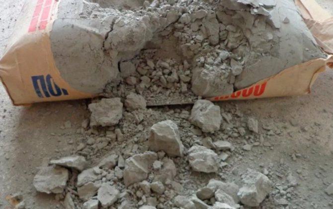 Как можно использовать затвердевший цемент