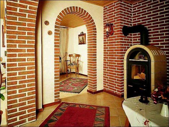 Как отделать арку декоративным кирпичом - этапы работы, инструкция, советы каменщиков