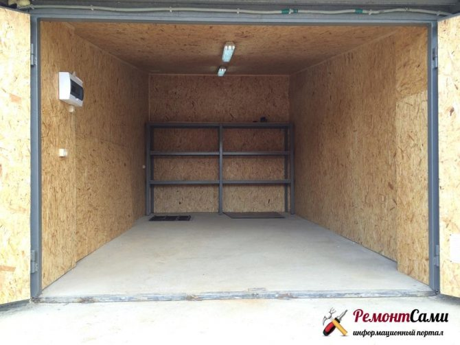 Как отремонтировать пол в гараже