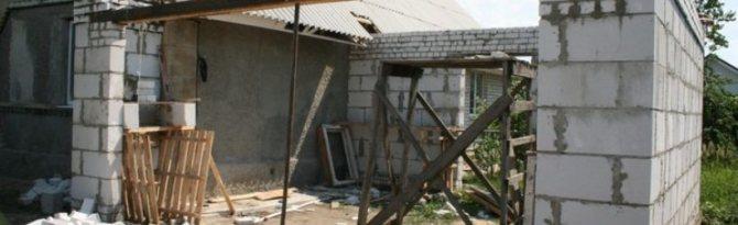 Как пристроить гараж к дому: специфика организации строительного процесса