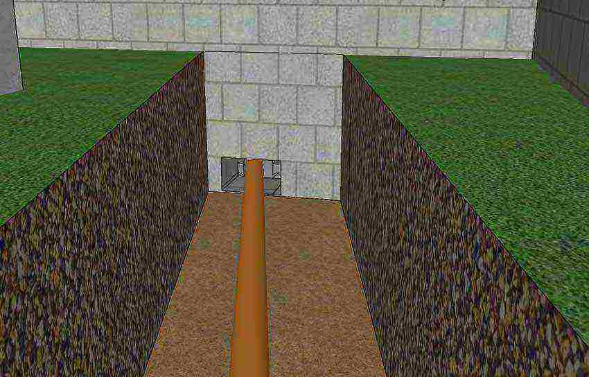 как просверлить фундамент под канализацию своими руками