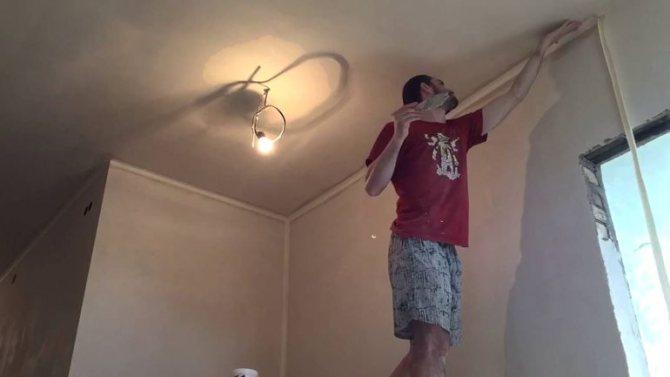Как сделать армирование внутренних углов примыкающих стен