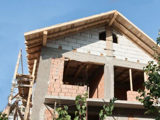 Как сделать крышу на кирпичном доме - разновидности, укрепление, инструкция, советы каменщиков
