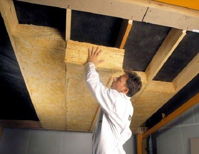 как сделать подшивной потолок