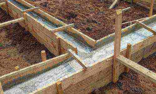 как сделать раствор из цемента и песка для фундамента пропорции