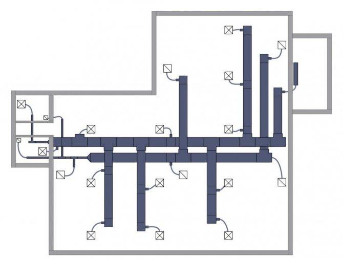 Как сделать вентиляцию в доме из газобетона